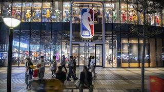 All NBA's official Chinese partners suspend ties