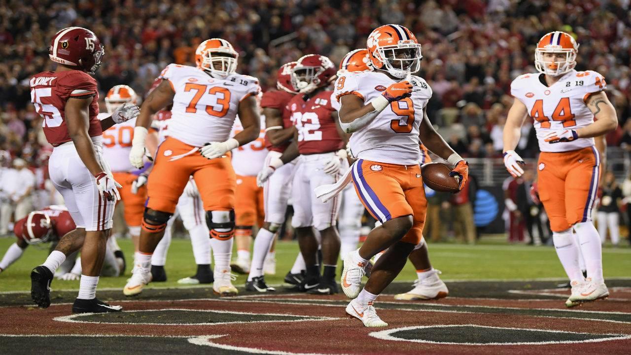 Clemson Dominates Alabama In College Football Playoff National