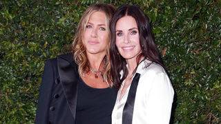 The one where Courteney Cox reunites with her 'Friends' costars for her birthday