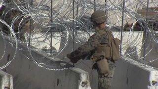 Number of US troops at border has 'peaked' at 5,900