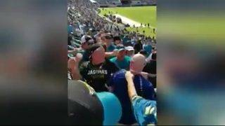 Texans fan sucker-punched by Jaguars fan at game in Jacksonville