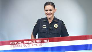 Corporal Shannon Anne Doré of the Kissimee Police Department