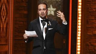 Lin-Manuel Miranda celebrated Twitter milestone 'Hamilton' style