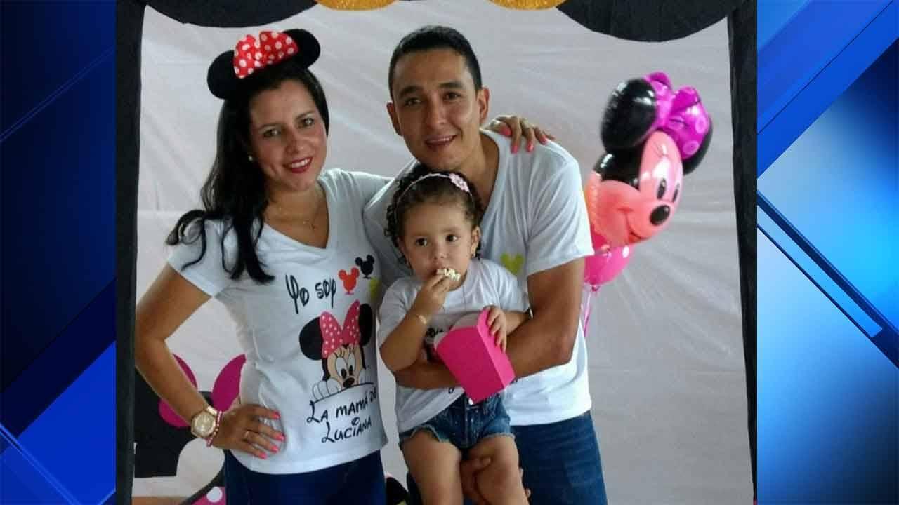 Carlos Gilberto Garcia Chacon and family