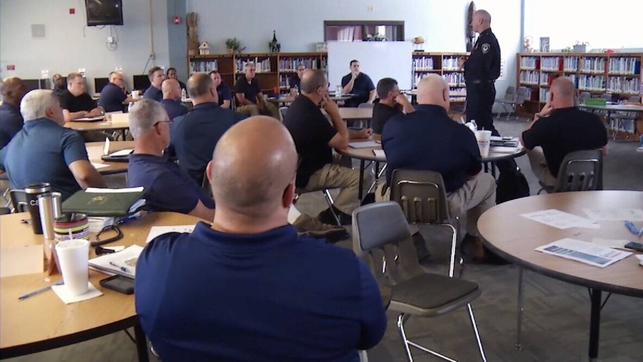 clay county schools police officers hired