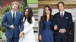 How Meghan Markle & Prince Harry's Engagement Compares to Prince William&hellip&#x3b;