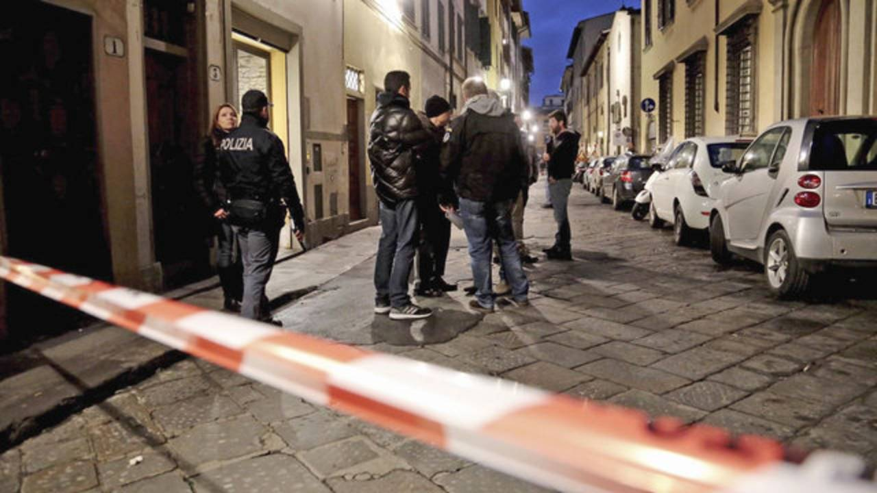 Florence, Italy murder investigation - photo via AP