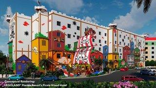 Legoland Florida announces new pirate-themed hotel