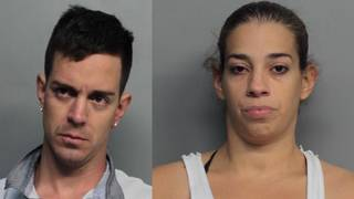 Couple accused of stealing luggage from Miami International Airport