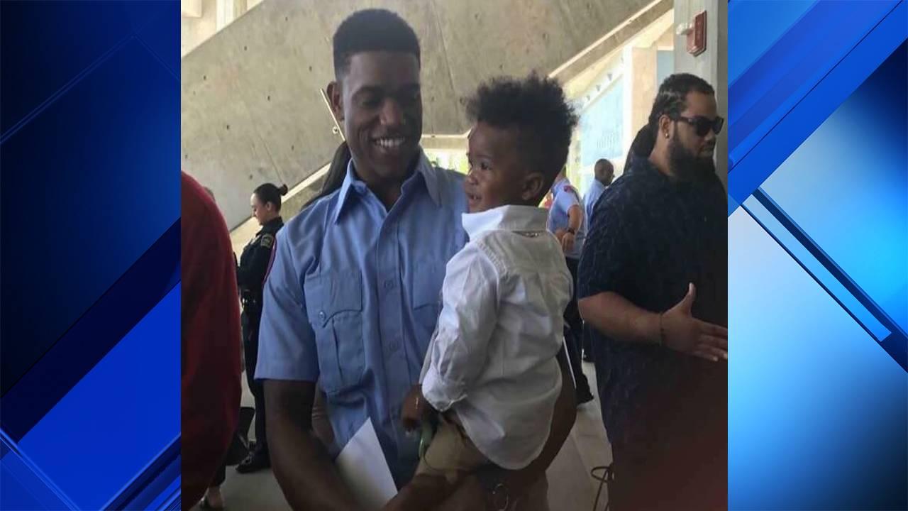 Darin Williams and son
