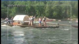 Lynchburg annual James River Batteau Festival, Launch Fest this weekend
