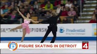 Olympic gold medalist Meryl Davis discusses big skating event in the D