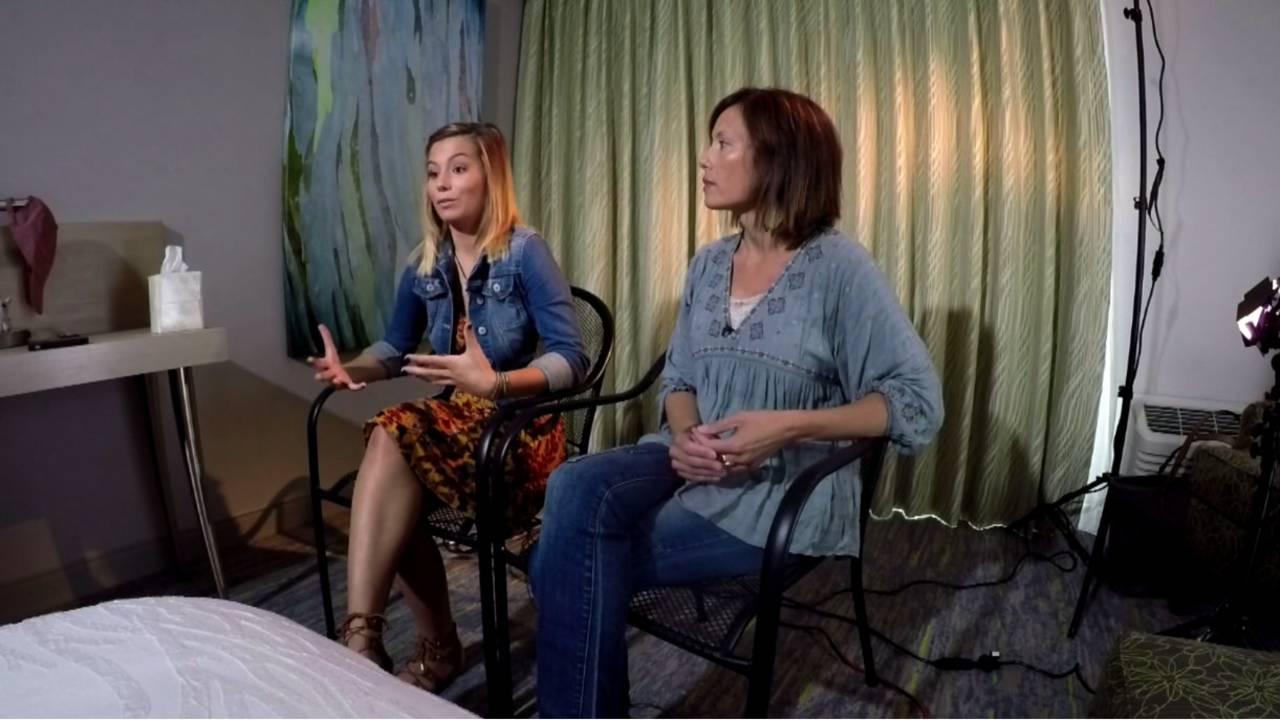 Alex Robinson and Leah McDonald mother adoption custody battle