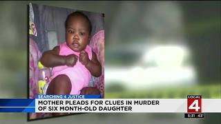 Detroit mother pleads for clues in murder of 6-month-old daughter