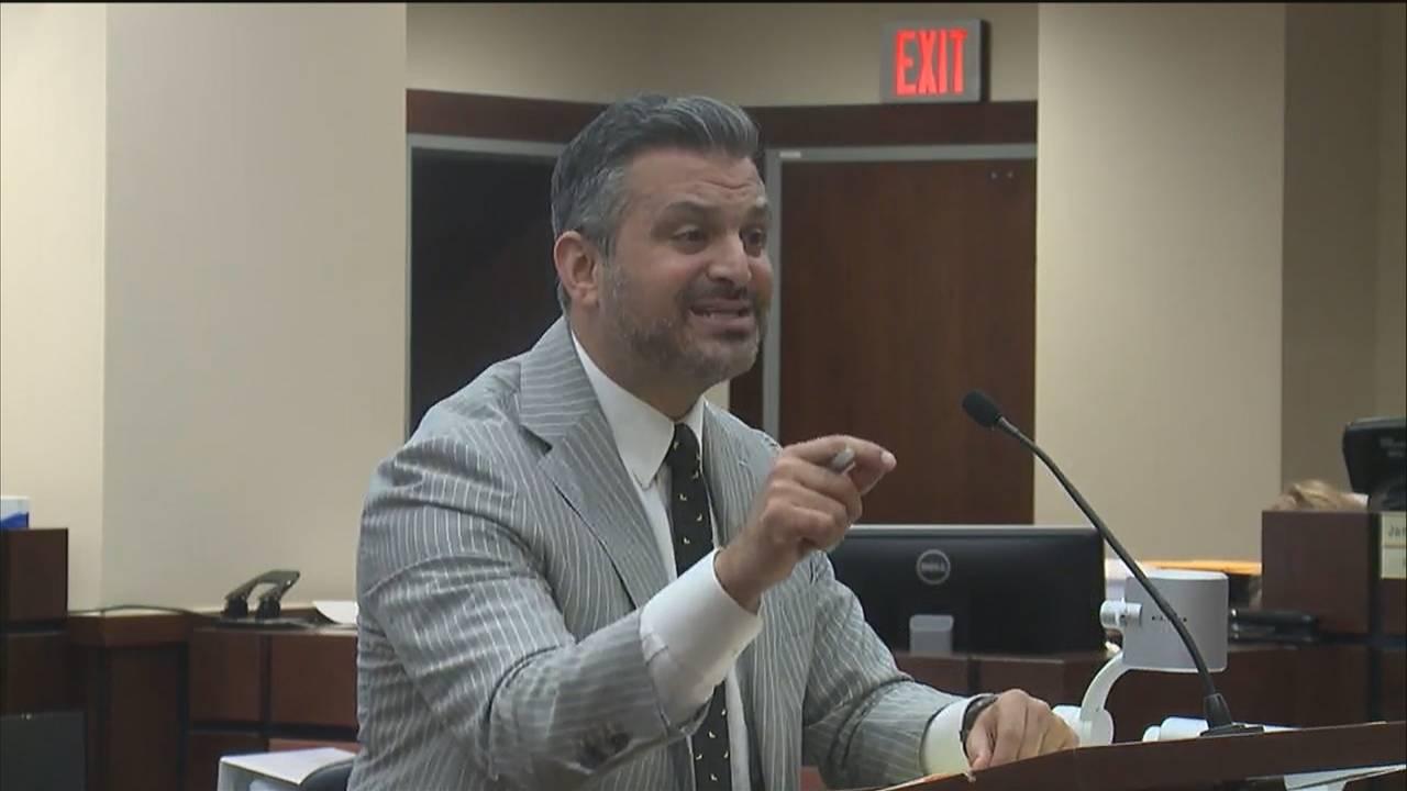 Saam Zangeneh makes closing arguments in murder trial of FSU law professor Daniel Markel