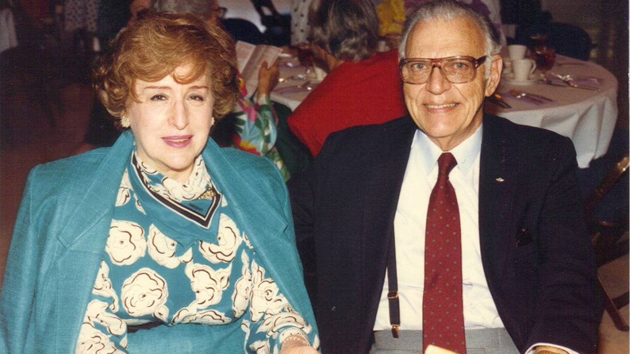 Ann and Milton Frost