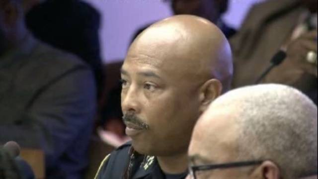 Detroit Police Chief Ralph Godbee goes in front of City Council_15887866