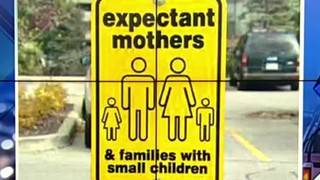 Not expecting? Don't park in expectant mother parking spots