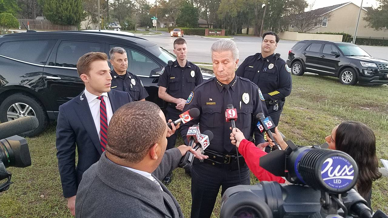 Casselberry Police Chief Larry Krantz