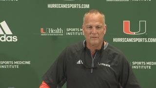 Richt, Hurricanes show respect for FIU
