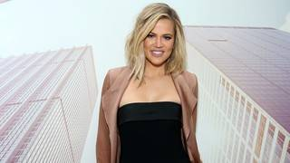 Khloe Kardashian Shows Off Baby Bump in Sexy Lingerie -- See the Pic!