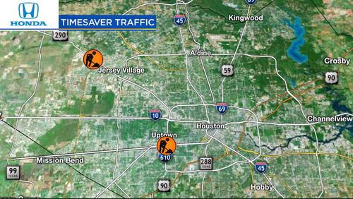 Upcoming weekend construction hot spots
