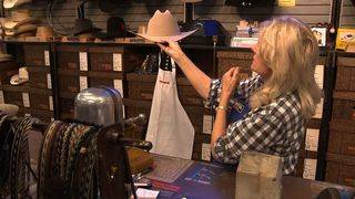 Expert talks picking right cowboy hat, tips for hat etiquette