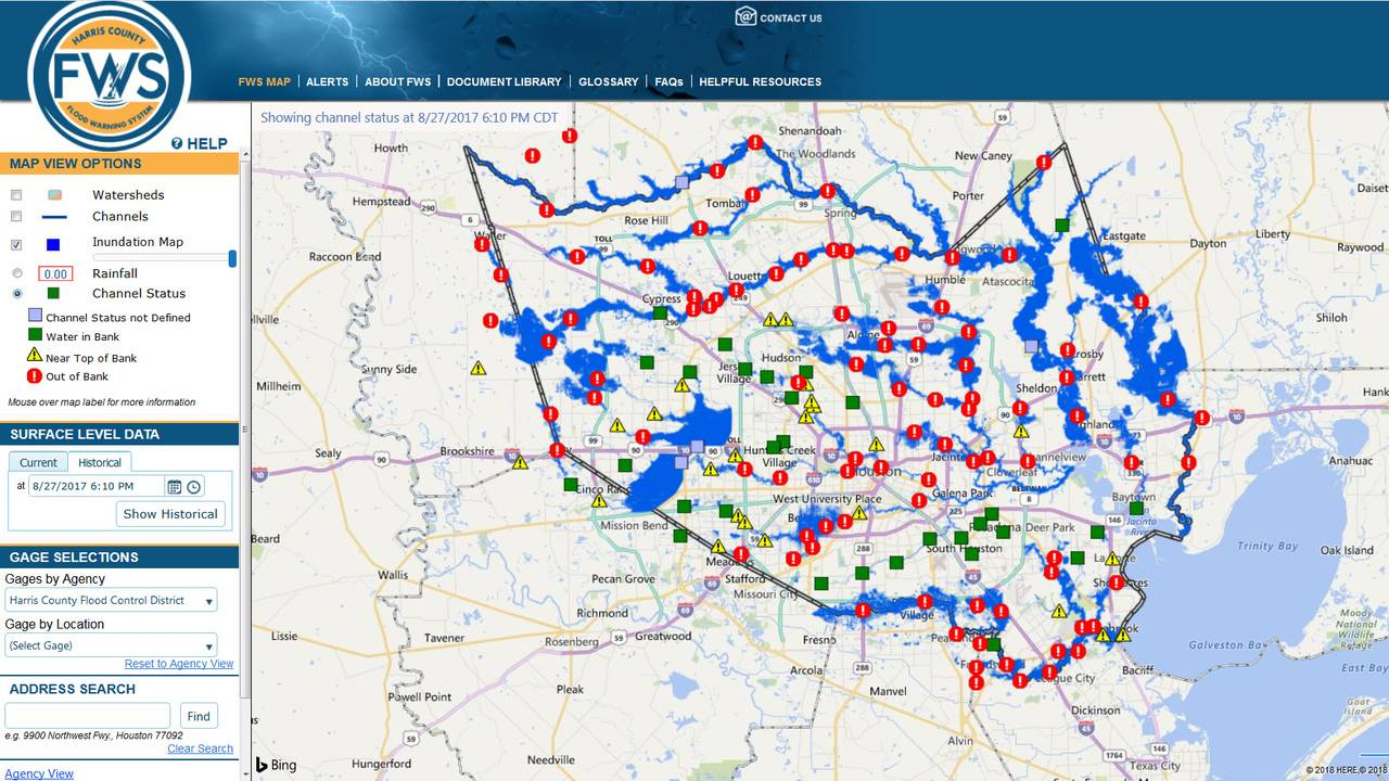 Here s how the new inundation flood mapping tool works