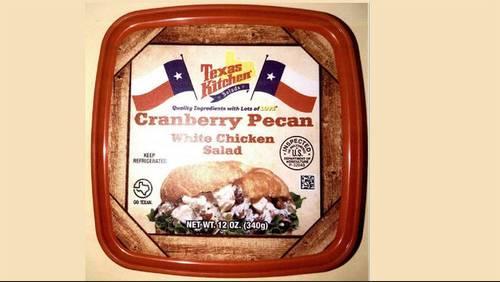 Houston company recalls nearly 3.5 tons of chicken salad