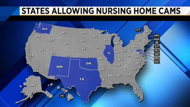 States Allowing Nursing Home Cams