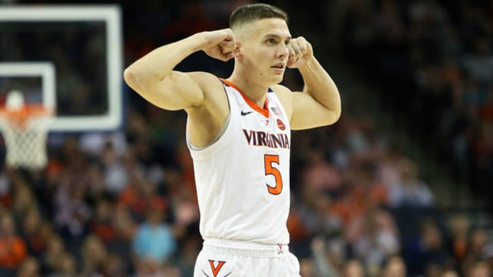 Kyle Guy Virginia basketball 2018
