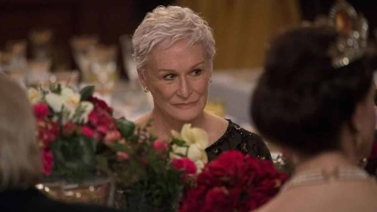 Glenn Close in 'The Wife'