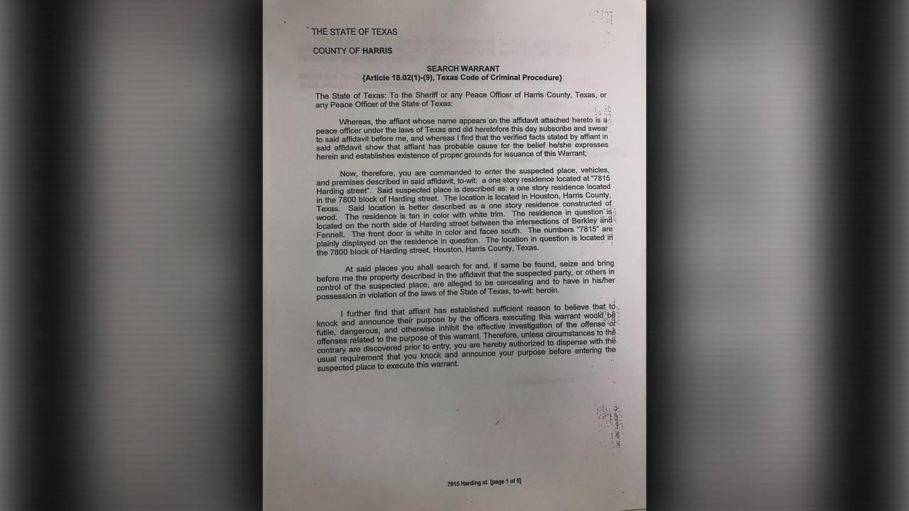 shootout warrant page 1