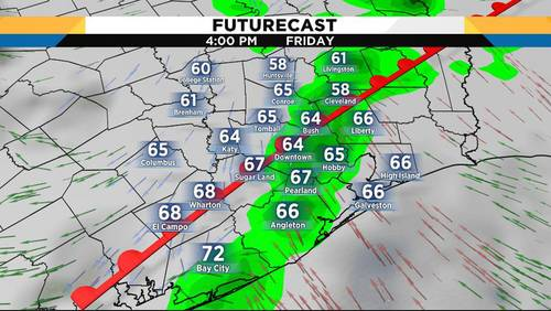 Friday's 'drizzerable' weather will give way to pleasant weekend