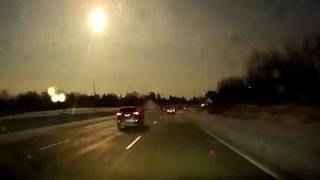 Suspected meteor blasts across Detroit sky