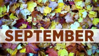 September birthday photos