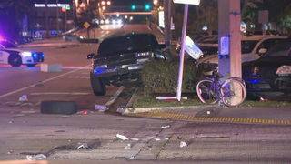 Woman dies after being struck by car in Fort Lauderdale