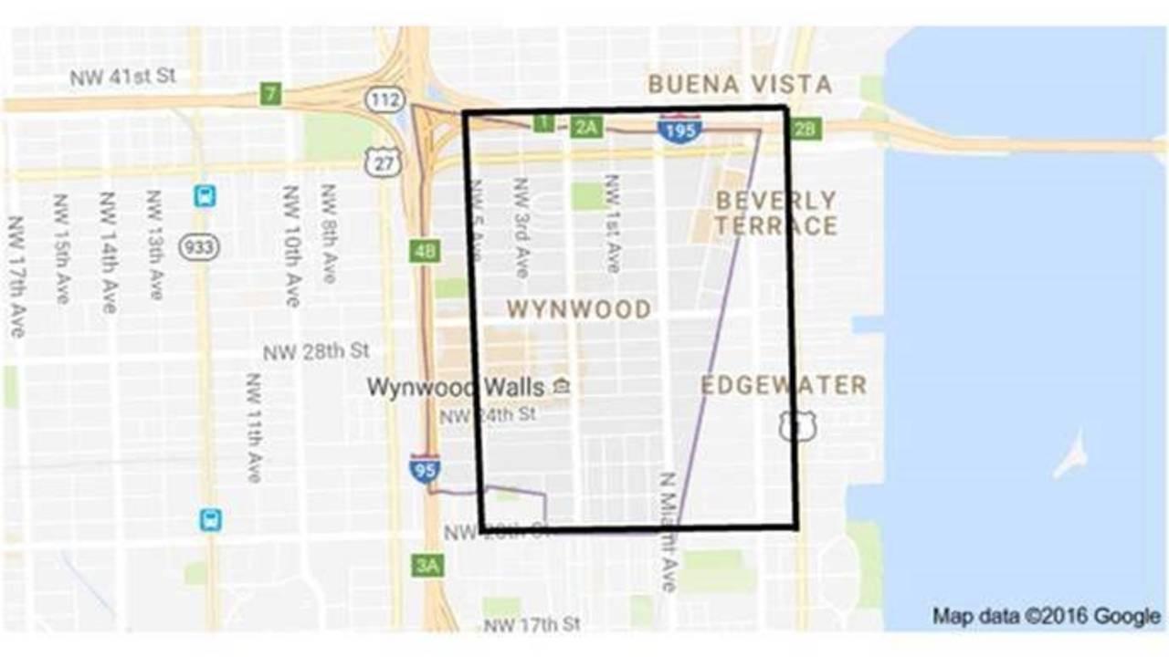 Miami Zika area