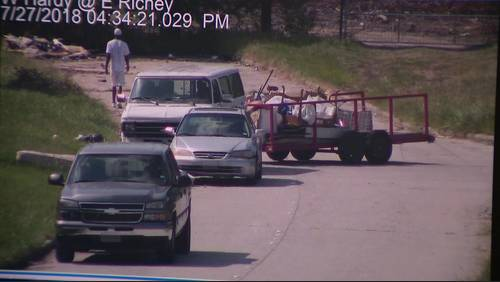 Duo accused of dropping off more than 500 pounds of trash at illegal dumping site