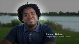 Richard Belue, Carpenter Apprentice