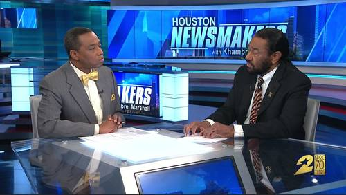 'Houston Newsmakers' for April 28: U.S. Rep. Al Green renews call for Trump impeachment