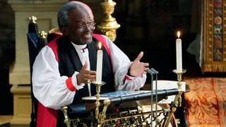 Most Rev. Michael Curry delivers passion and soul in powerful sermon
