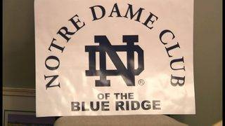 Alumni charity challenge issued by Notre Dame Club of Blue Ridge