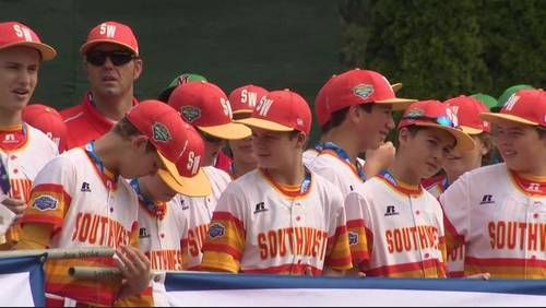 Post Oak Little League team enjoys rest day before taking on Mid Atlanta Little League World