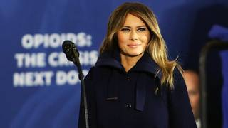 Melania Trump lends support to Americans battling opioid crisis
