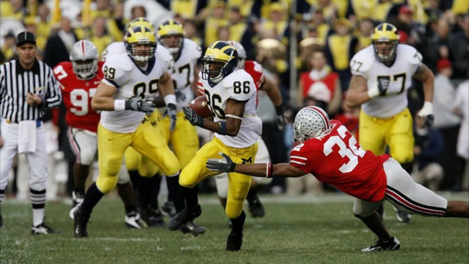 Mario Manningham Michigan Ohio State 2006