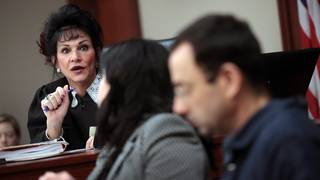 Larry Nassar accuses judge of running a 'media circus'