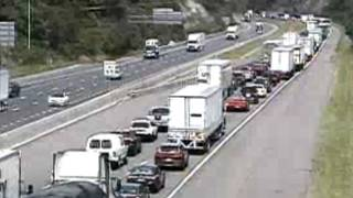Montgomery County Traffic Cameras >> Disabled Tractor Trailer Causing Delays On I 81n In
