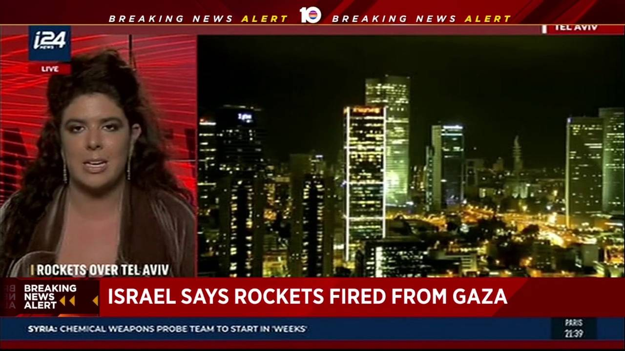 Gaza militants fired 2 rockets at Tel Aviv, Israel says20190314231547.jpg