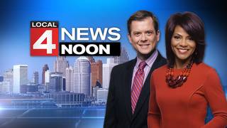 Watch Local 4 News at Noon -- January 19, 2018